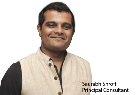 Saurabh Shroff,Principal Consultant,Clearwater-Consulting