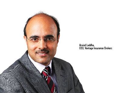 Arvind Laddha ,CEO,Vantage-Insurance-Brokers