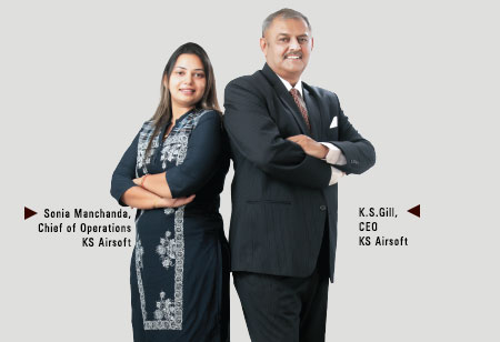 K.S.Gill & Sonia Manchanda,CEO & Chief of Operations,KS-Airsoft