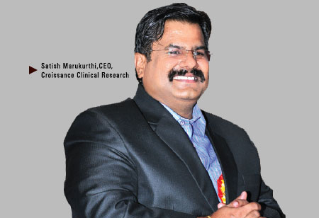Satish Marukurthi, CEO,Croissance-Clinical-Research