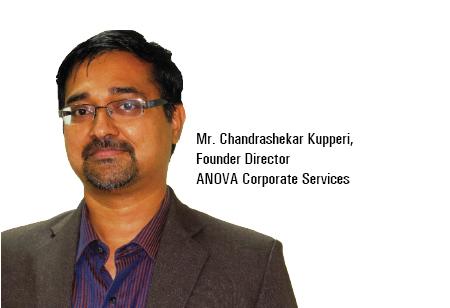Chandrashekar Kupperi,Founder & Director,ANOVA-Corporate-Services