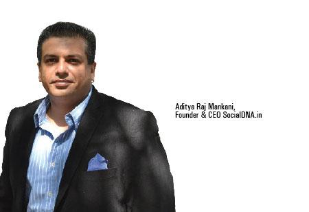 Aditya Raj Mankani,Founder & CEO,SocialDNAin
