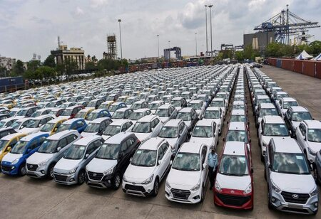 Passenger vehicle sales fall by 10 percent in April