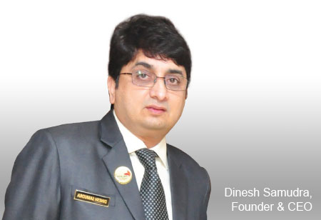 Mr. Dinesh Samudra,Founder and CEO,Palash-Healthcare-Systems