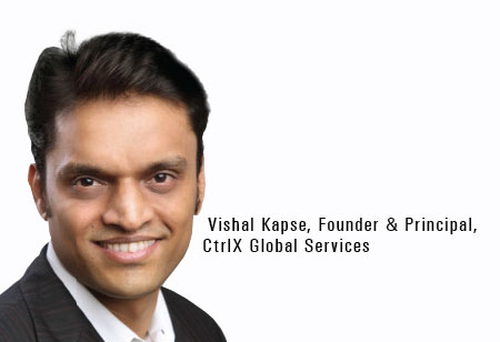 Vishal Kapse,Founder & Principal,CtrlX-Global-Services