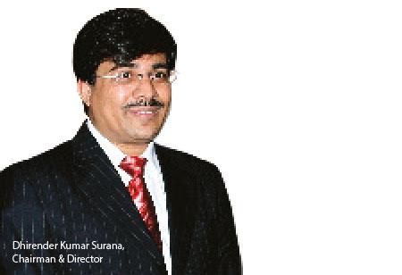 Dhirender Kumar Surana,Chairman& Director ,Intensive-Fiscal-Services