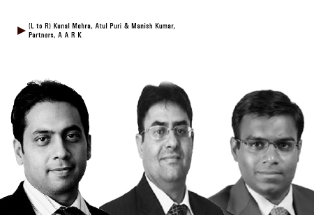 Atul Puri, Manish Kumar, Kunal Mehra,   Partners,AARK