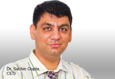 Dr. Sachin Gupta,Chief Executive Officer,Salus-Health-Care