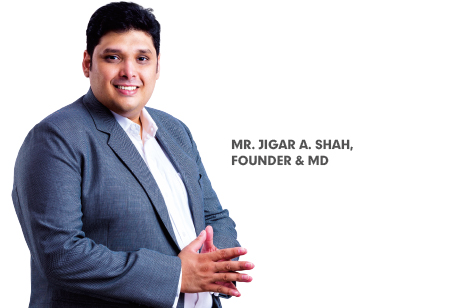 Jigar A. Shah,Founder & MD,Jas-Global