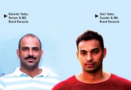 Amit Yadav,  Founder & MD,Brand-Recourse