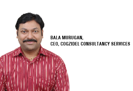 Bala Murugan,CEO,Cogzidel-Consultancy-Services